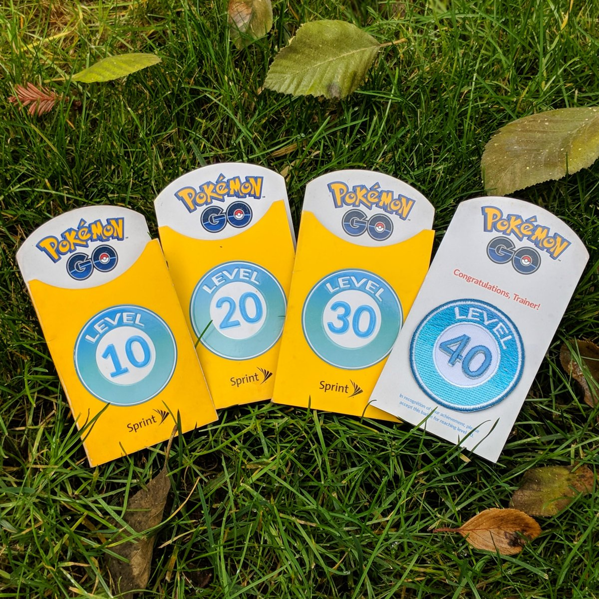 Grab free Trainer Level Badge at Sprint to represent your