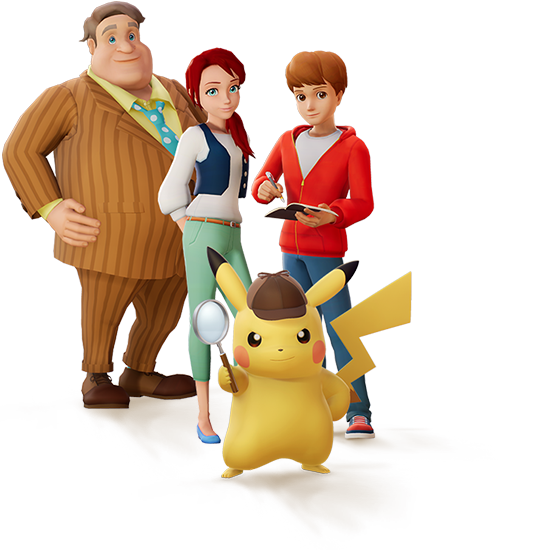 detective pikachu full website now up and running revealing