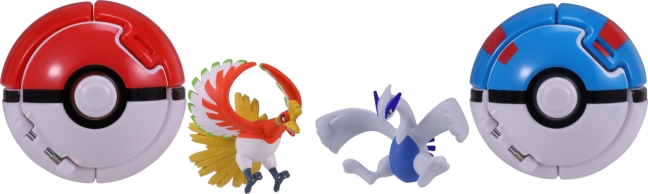 A Brand New Pokemon Toy Line From Takara Tomy Is Now Available In Japan Its Called PokeDel Z Which Features Unique Poke Balls That Open Up And Contain