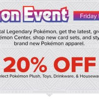 New Pokémon Event now taking place at GameStop featuring Legendary distributions for Dialga and Palkia; free Heatran promo card offer also available
