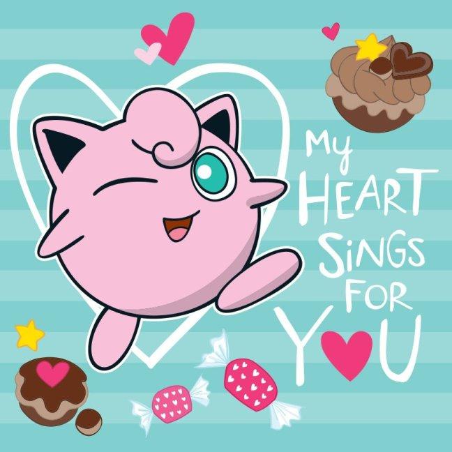New Official Pokemon Valentines Feature Jigglypuff Smoochum