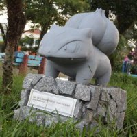 Pokémon GO fan creates Bulbasaur statue in Brazil for the third official Pokémon GO Community Day