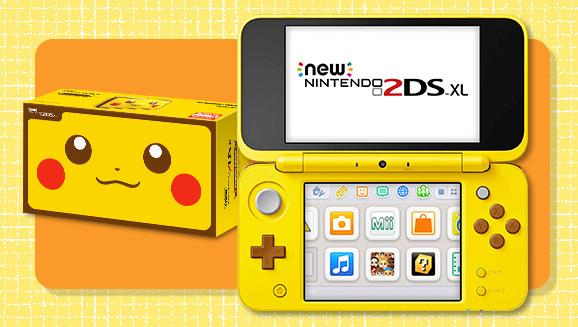 Pikachu Edition New Nintendo 2ds Xl Pokémon Blog