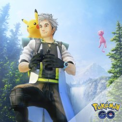 official_pokemon_go_artwork_for_field_research_and_special_research_featuring_professor_willow_pikachu_and_mythical_mew