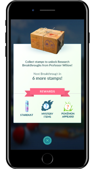 official_pokemon_go_screenshot_of_collecting_stamps_for_breakthrough