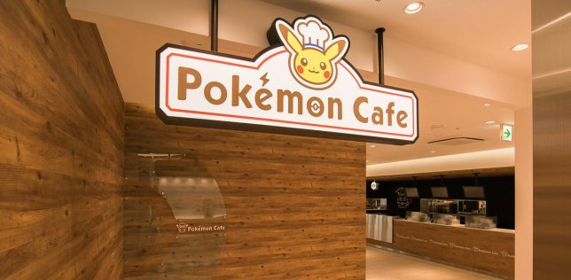 pokemon_cafe_interior_logo_sign_with_chef_pikachu