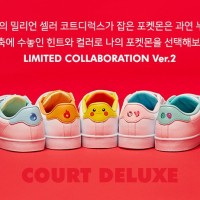 The Pokémon Company teams up with Fila for new Pokémon Court Deluxe shoes featuring Pikachu, Bulbasaur, Charmander, Squirtle and Jigglypuff