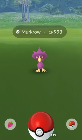pokemon_go_screenshot_of_wild_shiny_murkrow