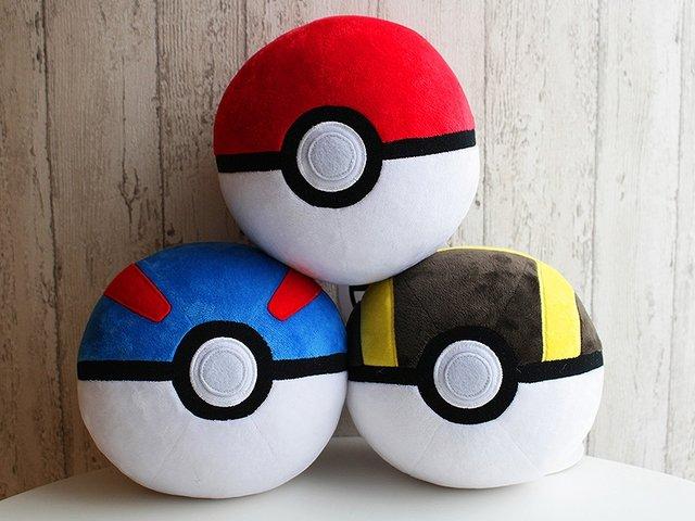 Pokemon Center Original Poke Ball Great Ball And Ultra Ball
