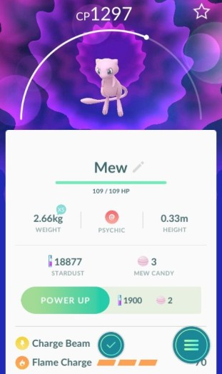 pokemon_go_screenshot_of_mythical_pokemon_mew_profile