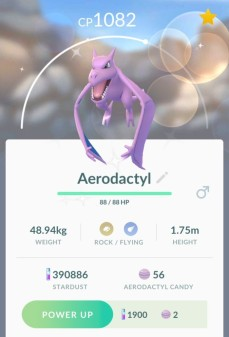 pokemon_go_screenshot_of_shiny_aerodactyl_profile
