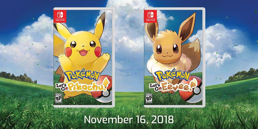 Pokemon Let S Go Pikachu And Pokemon Let S Go Eevee Now