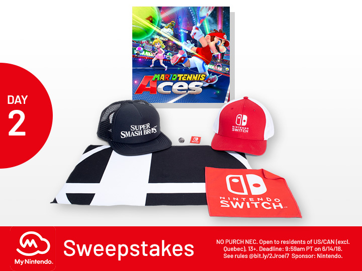 13e431beca8 My Nintendo sweepstakes now underway for all fans during E3 2018 ...
