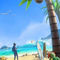 Brand-new summer loading screen for Pokémon GO features Alolan Exeggutor, surfing Alolan Raichu, Alolan Diglett, Alolan Dugtrio, Bellossom and more