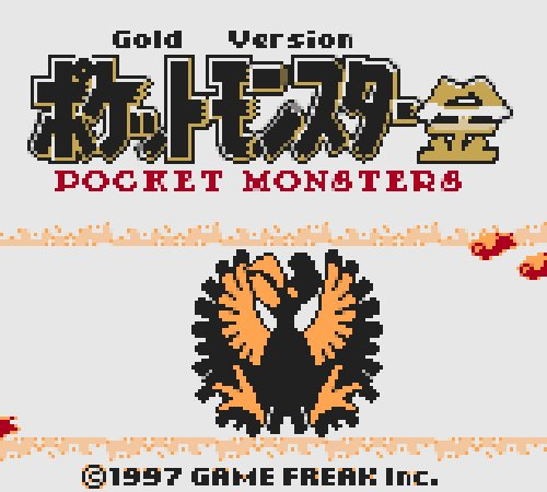 pokemon gold spaceworld demo rom