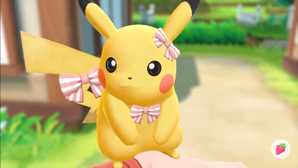 You Can Customize The Ears Chests Backs And Tails Of Pikachu And