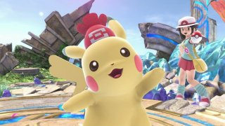 super_smash_bros_ultimate_screenshot_of_female_pikachu_with_hat_taunting