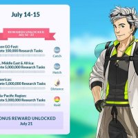 Professor Willow's Global Challenge bonuses now available to all Pokémon GO players until July 23 at 1 p.m. PDT