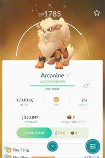 pokemon_go_screenshot_of_lucky_pokemon_arcanine