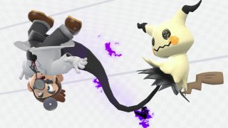 super_smash_bros_ultimate_screenshot_of_mimikyu_attacking_dr_mario