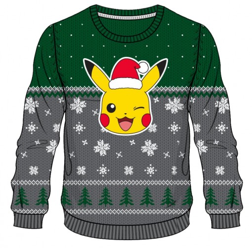 Pikachu Christmas Pokemon Sweater Anime Pictures | www.picturesboss.com