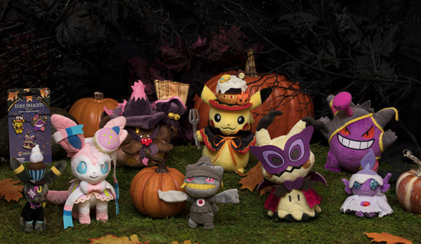 the brand new eerie delights collection will give you just that and its now available for the halloween 2018 season at the official pokmon center