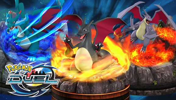 You Can Now Add Shiny Charizard Mega X And Y Figures To Your Pokemon Duel Collection