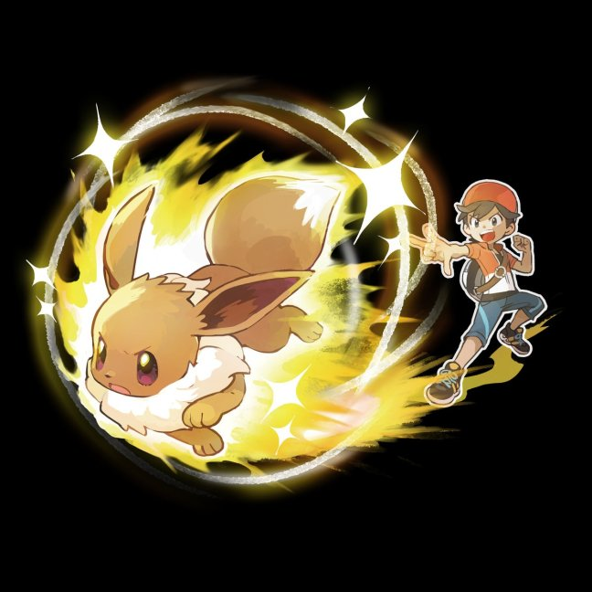 official artwork and details for pokémon let s go pikachu and eevee