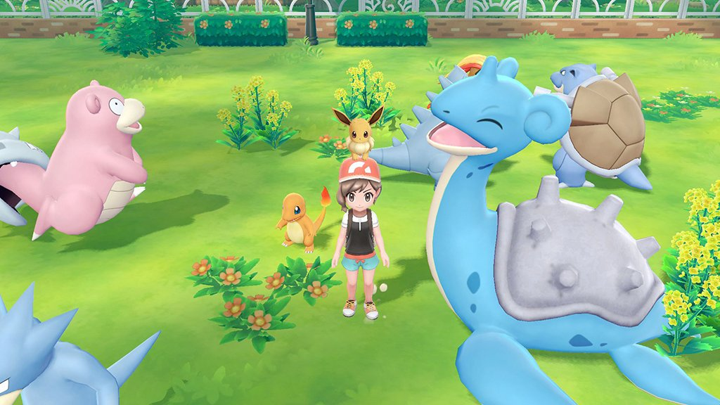 Video Pokémon Let S Go Fact Lapras Are Very Gentle By Nature And Love To Give People Rides On Their Backs Pokémon Blog