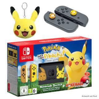 pokemon_lets_go_pikachu_hardware_bundle_pal_pikachu_keyring_and_joy_con_analog_thumb_caps_featuring_pikachu_and_eevee