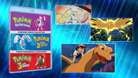 Pokemon The First Movie Pokemon The Movie 2000 And Pokemon 3