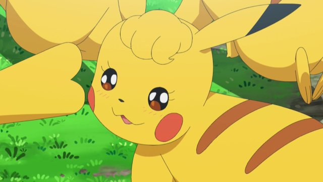 First Images Of Pokmon Lets Go Reference In The Anime Of Female