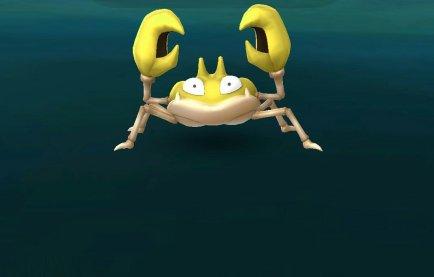 pokemon_go_screenshot_of_wild_shiny_krabby