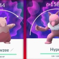 First Pokémon GO screenshots of successfully caught Shiny Drowzee and Shiny Hypno