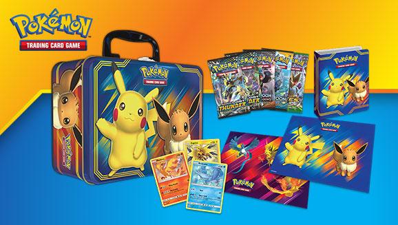 New Pokemon Tcg Collector Chest Stars Pikachu And Eevee Pokemon