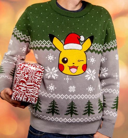 Pokemon Christmas Sweater.Pikachu Christmas Sweater Available To Pre Order Pokemon Blog