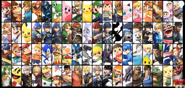 Full List Of All 76 Confirmed Playable Characters In Super Smash