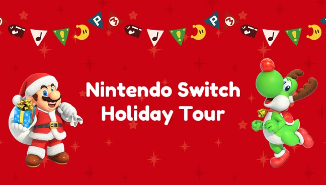 Nintendo Tour Canada Holiday