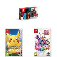Black Friday deal alert: Nintendo Switch bundle with Pokémon Let's Go Pikachu and Just Dance 2019 now available at Amazon for only £299.99 in UK