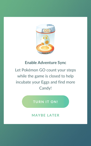 What to do if Pokémon GO Adventure Sync isn't working or