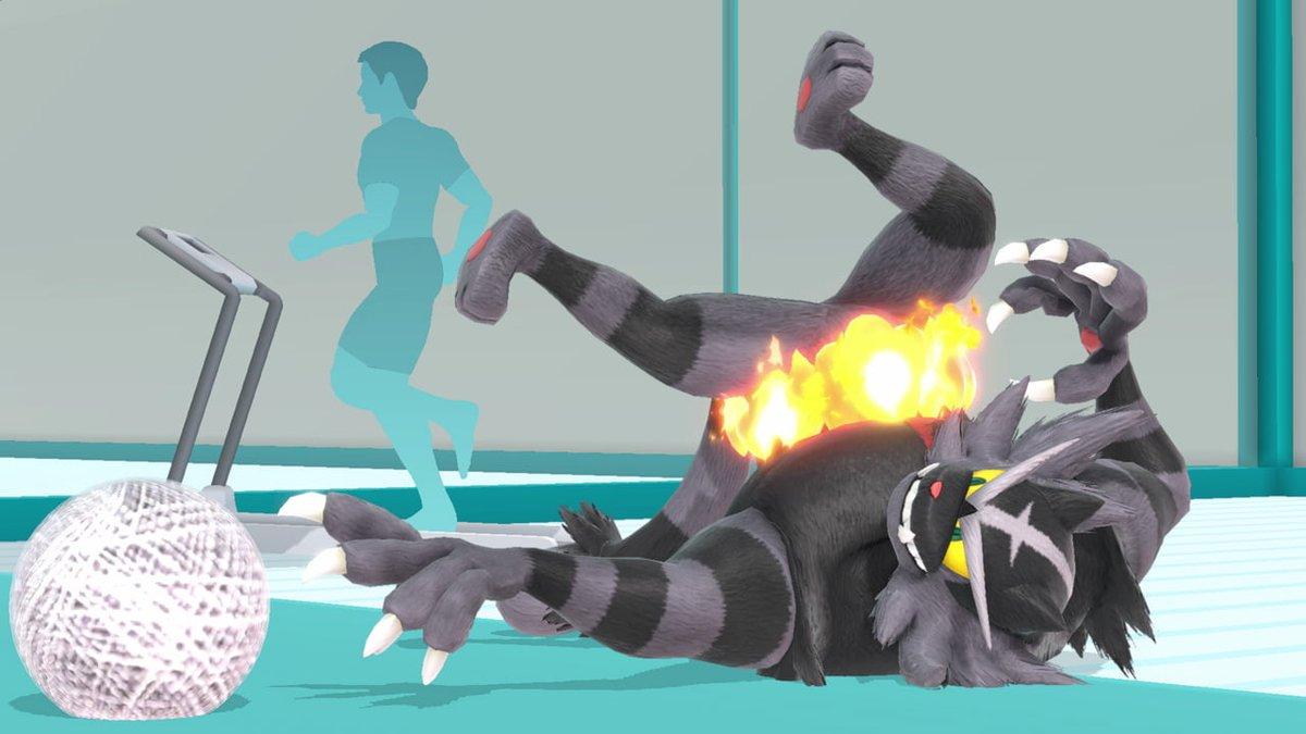 Dark Incineroar revealed as new alternate outfit in Super Smash Bros.  Ultimate