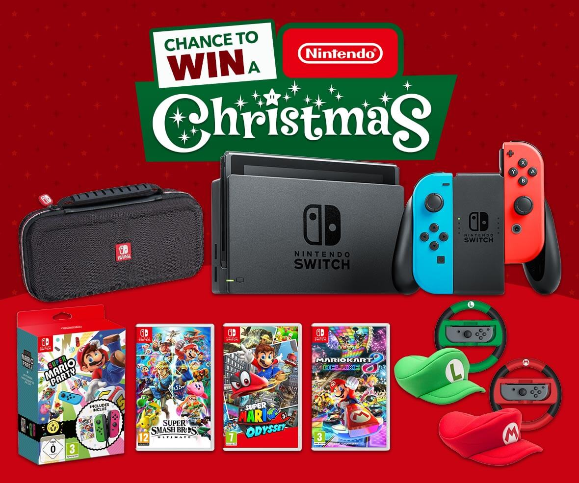 Nintendo Official Uk Store Giving Away Christmas Nintendo