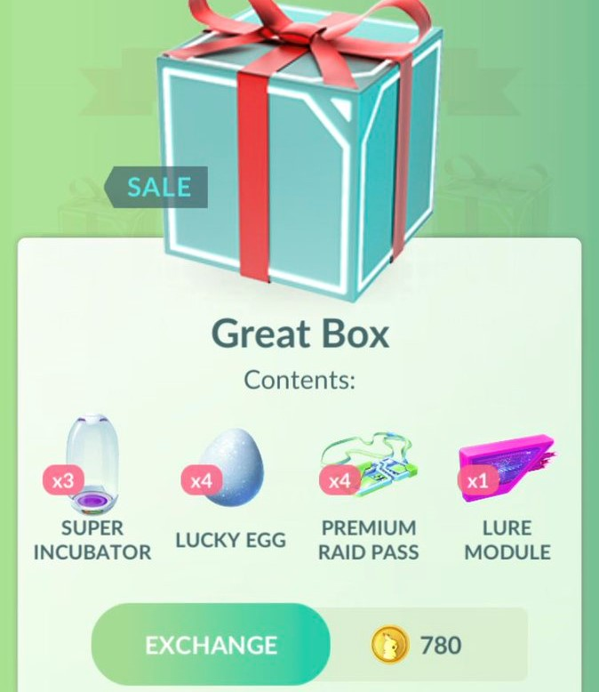 three new pokémon go boxes now available with egg incubators, lucky