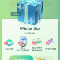 Three brand-new Pokémon GO holiday 2018 boxes now available: Winter Box, Great Box and Ultra Box