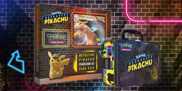 First Look At New Pokémon Tcg Cards For Detective Pikachu Charizard