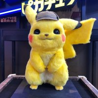 Realistic life-size POKÉMON Detective Pikachu movie plush revealed for Japan