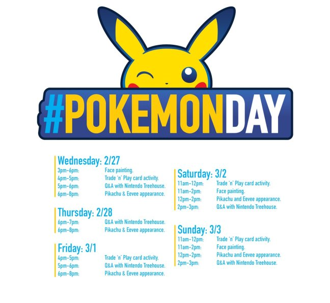 Anime 2019 March: Nintendo NY Reveals Pokémon Day 2019 Plans And Official