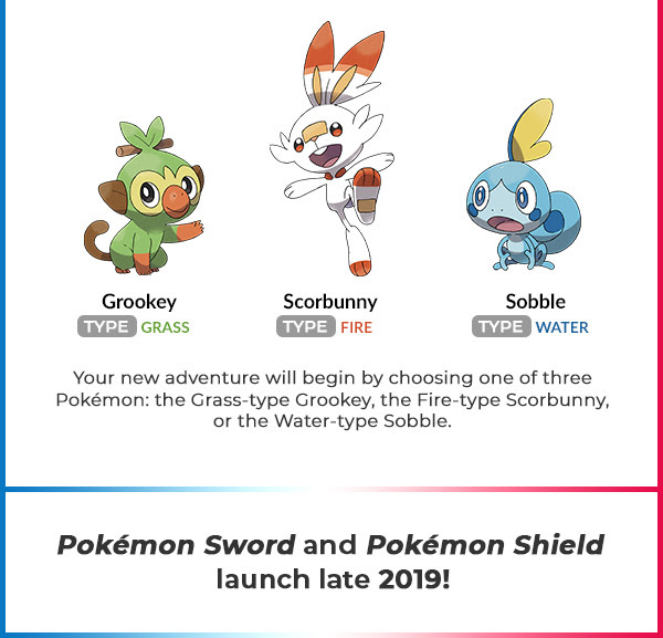 Pokemon Sword And Pokemon Shield Are Coming To The Nintendo Switch
