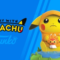 New Funko figure A Day with Pikachu: Rainy Day Pokémon features sad Pikachu clinging to Castform