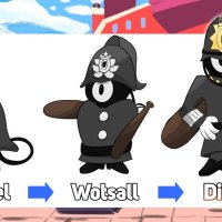 Fanart: New British Pokémon Welwel, Wotsall and Disden created for Pokémon Sword and Shield